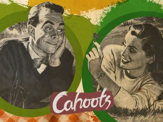Cahoots menus and posters